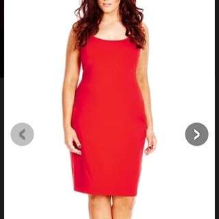 Red Tube Dress