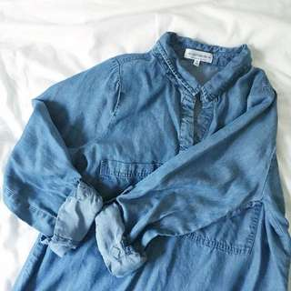 Cotton On Denim Shirt Dress