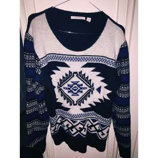 CountryRoad Aztec Print Sweater