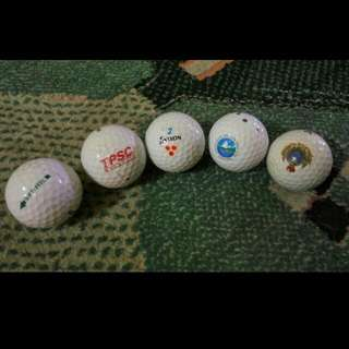 Assorted Golf Balls (12 per pack)