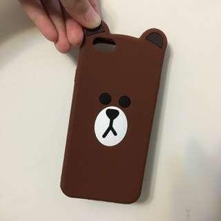 Line Brown iPhone6/6s Case