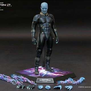 HOT TOYS ELECTRO THE AMAZING SPIDER-MAN 2