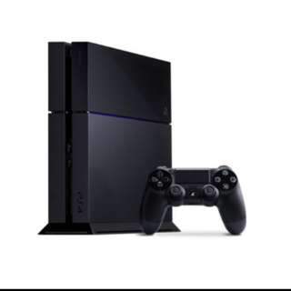 USED PS4 CONSOLE BLACK