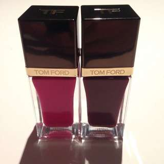 Tom Ford Nail Polish Fever Pink And Bordeaux Lust
