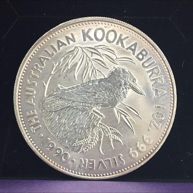 1990 Kookaburra Coin