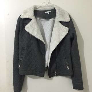 Quiltted Zipped Jacket