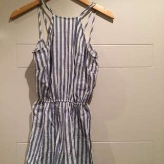Toby Heart Ginger Play suit Size 8
