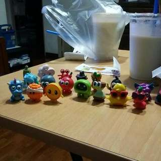 Moshi Monsters Moshlings Figurines