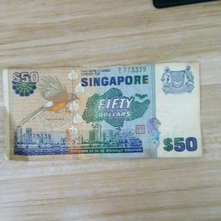 30 Yrs Old Old Note $50