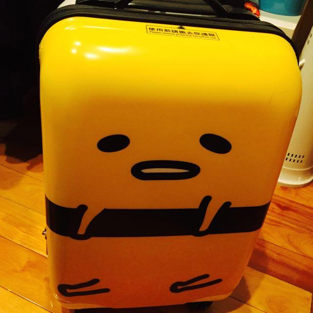 「保留中」蛋黃哥行李箱