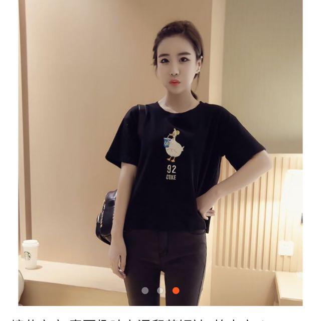 黑色上衣(全新含運)