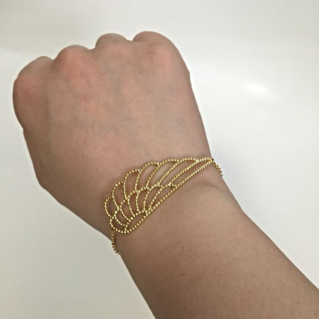 韓國金色手鍊 Korea Bracelet