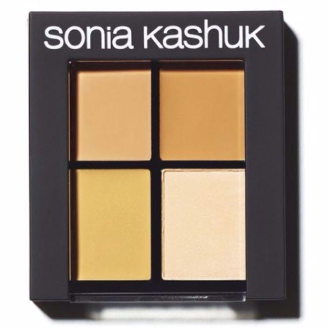 現貨一個 Sonia Kashuk hidden agenda concealer palette 遮瑕盤 色號light