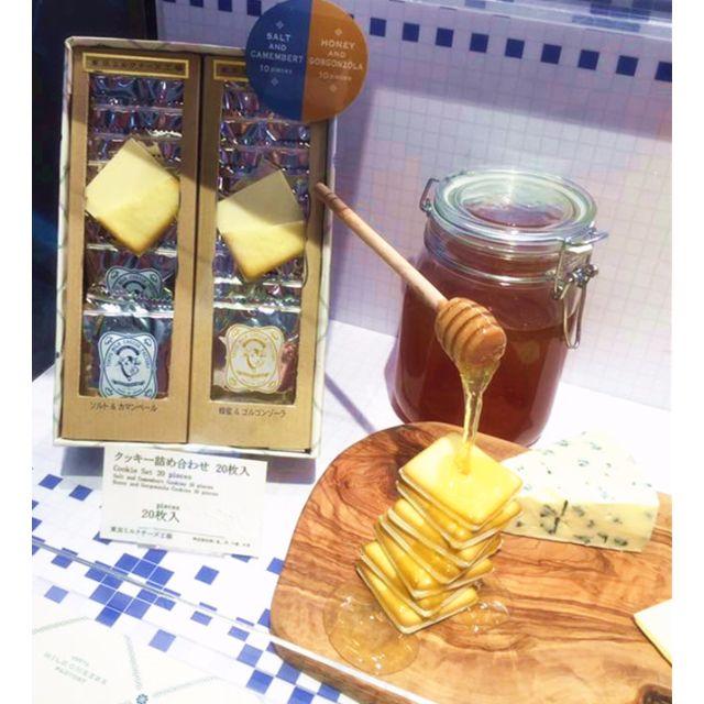 現貨 Tokyo Milk Cheese Factory 東京牛奶起司餅乾MIX禮盒 海鹽10入+蜂蜜10入