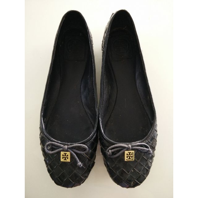 Authentic TORY BURCH Ballerina Flat Shoes US 7