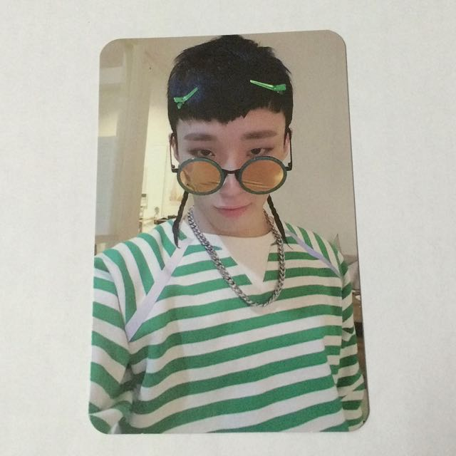 B.A.P CARNIVAL Album Jong Up Jongup Official Photocard