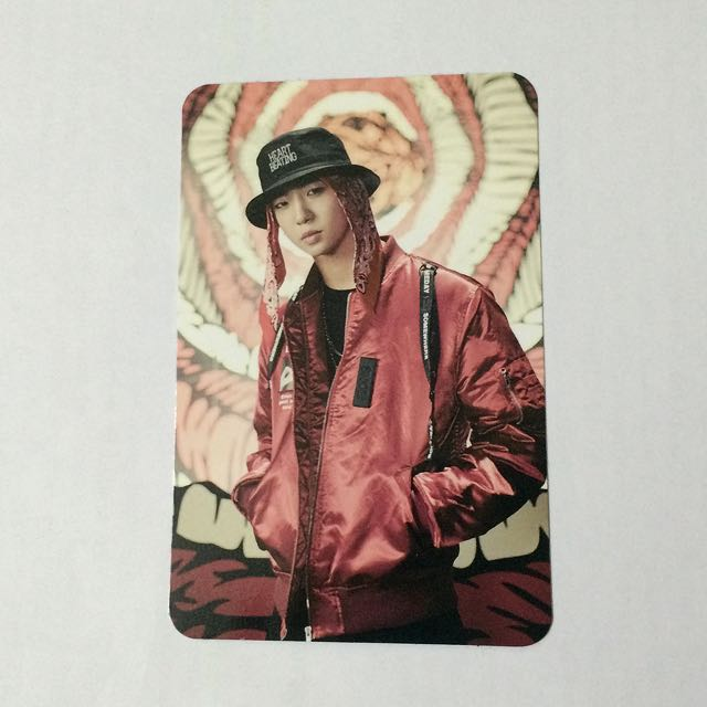 B.A.P MATRIX Album Bang Yong Guk Yongguk Official Photocard
