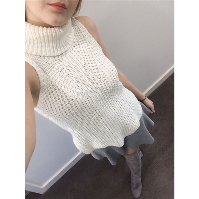 UNDER OFFER Bardot Knit Top