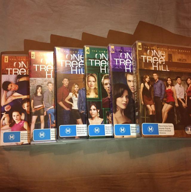 DVD Set One Tree Hill Seasons 1-6