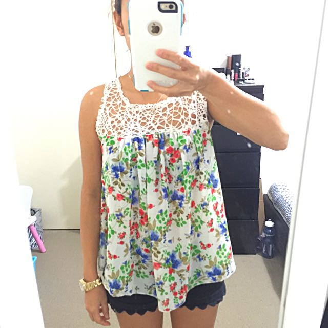 Floral Top XS-Small