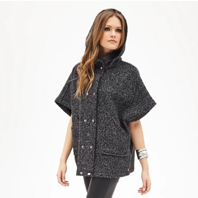 Forever21 Wool Blend Cape