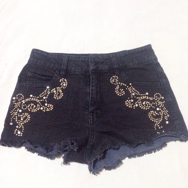 Forever 21 Beaded Shorts