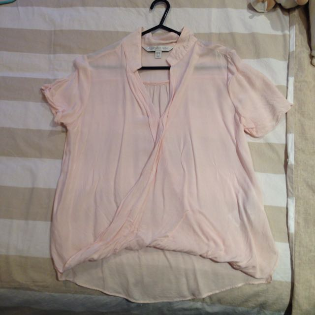 Forever new light pink top