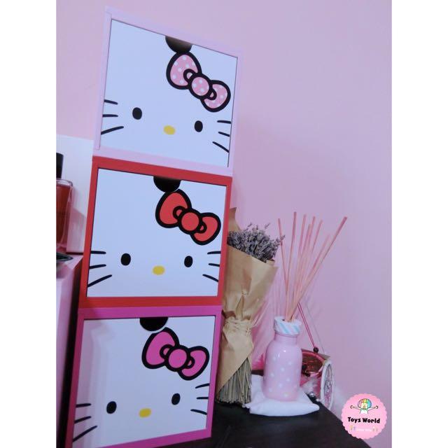 🎀Hello kitty積木盒🎀