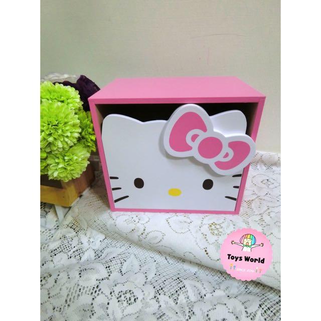 🎀Hello kitty頭型抽屜盒🎀