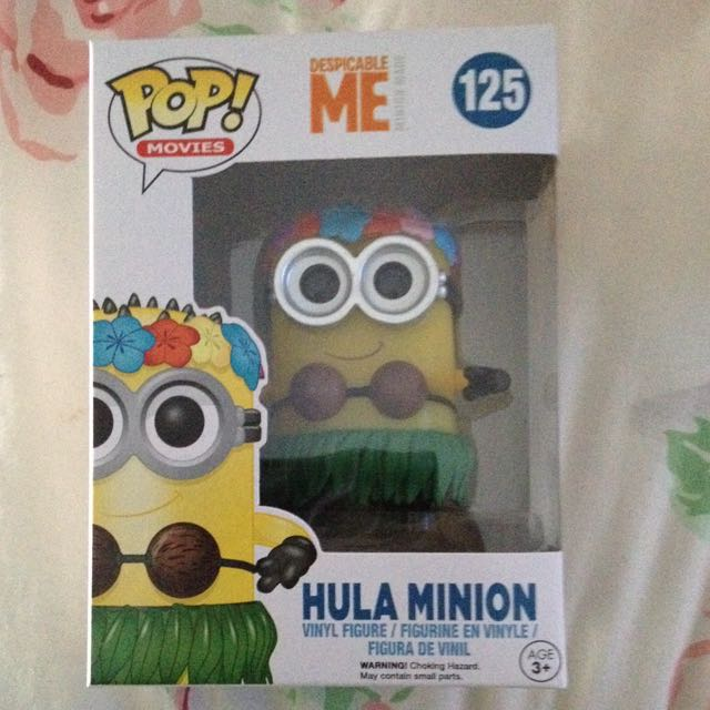 SOLD PENDING Hula Minion Pop Vinyl Figure