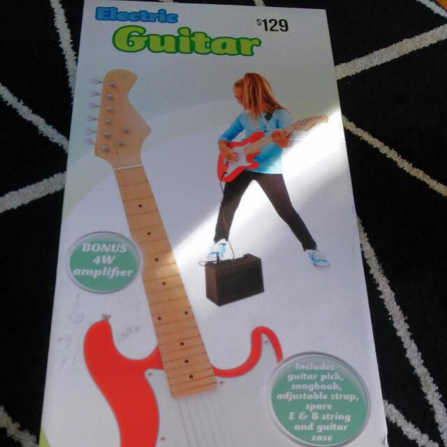 Kids Electric Guitar With Amp