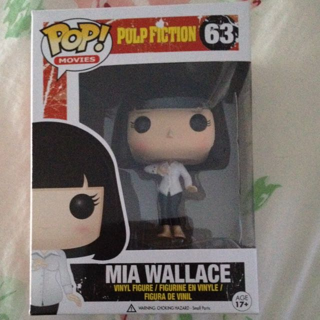 Kill Bill Mia Wallace Pop Vinyl Figure