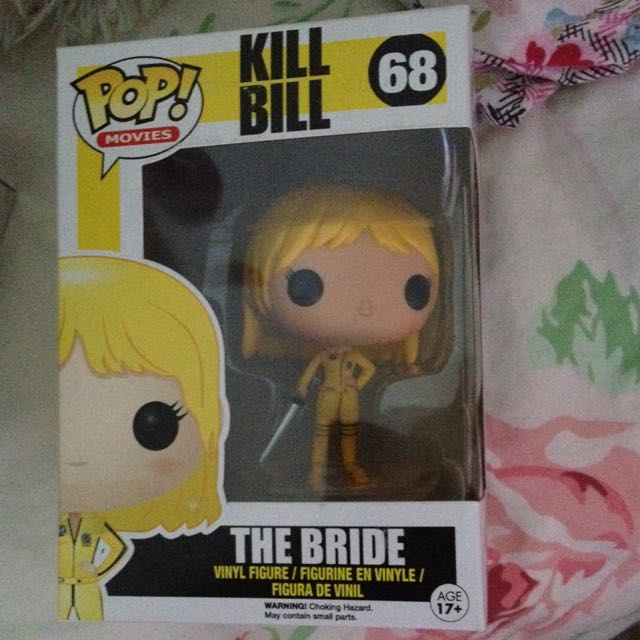 SOLD PENDING Kill Bill The Bride Pop Vinyl Figure