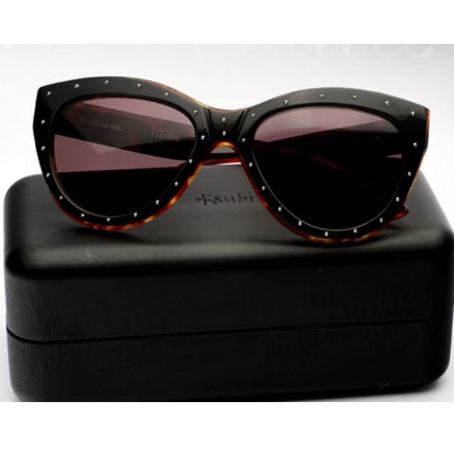 Ksubi Tortoise Shell Studded Sunglasses