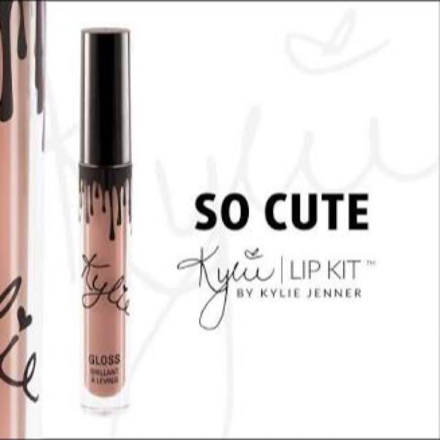 Kylie Glosses So Cute