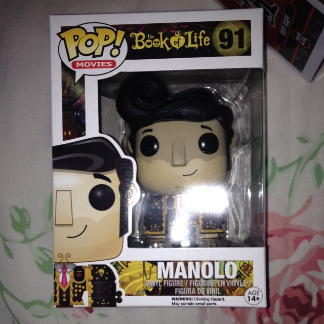 SOLD PENDING Manolo  Book Of Life Pop Vinyl Figure