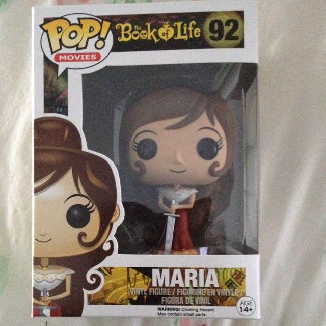 SOLD PENDING Maria Book Of Life Pop Vinyl Figure