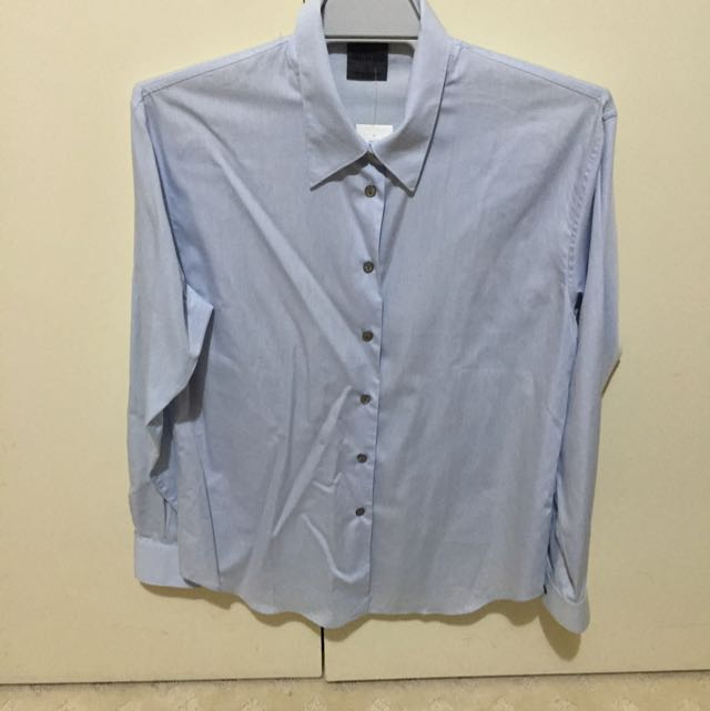 Mens Country Road Pale Blue Shirt