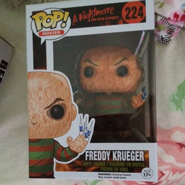 NO HAT Freddy Krueger Pop Vinyl Figure