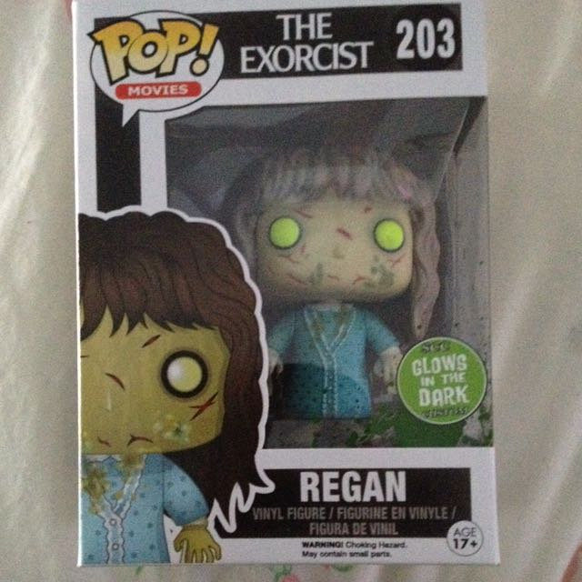 Regan GLOW IN THE DARK Pop Vinyl Figure