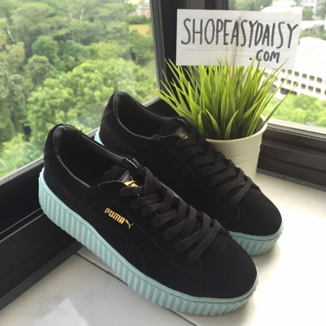 the latest 0bdf7 88dd2 Rihanna x PUMA Suede Creepers