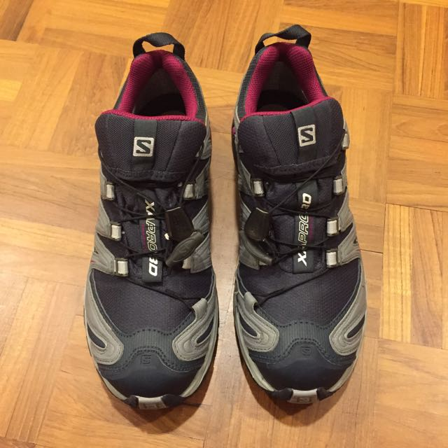 7212015d18728 Salomon XA PRO 3D GTX W Hiking Shoes, Women's Fashion on Carousell