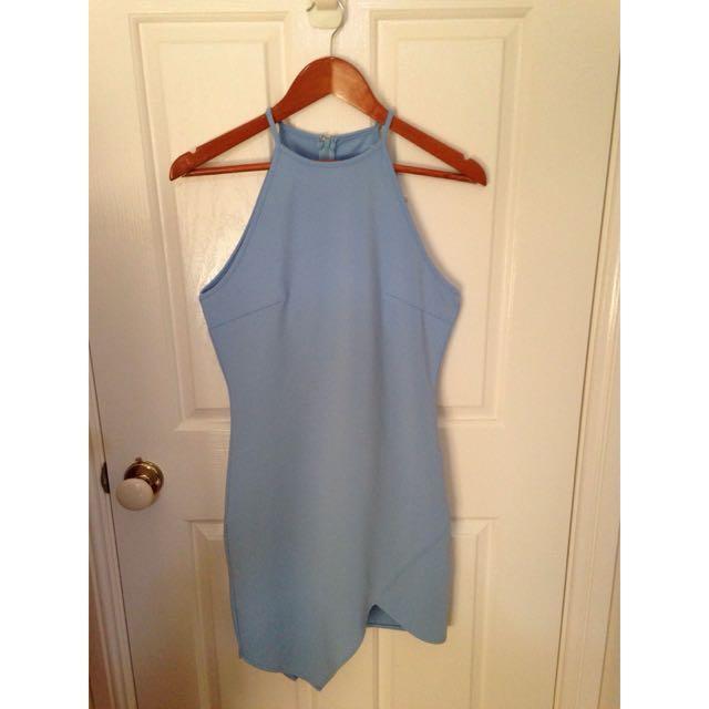 Showpo Blue Dress BNWT