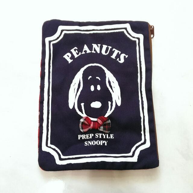 正版Snoopy化妝包 手拿包