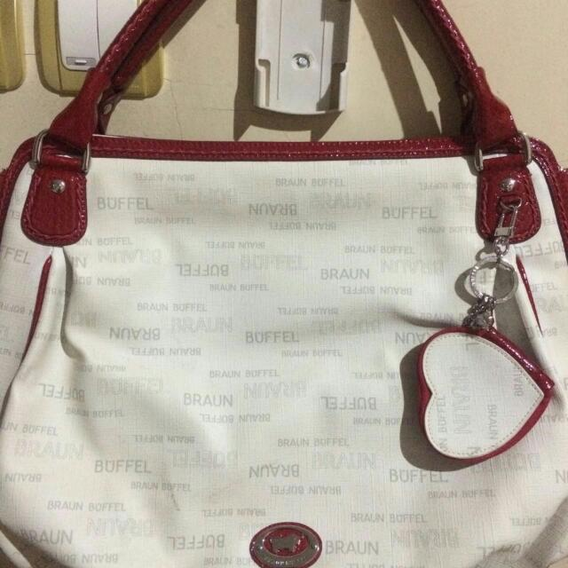 Tas Braun Buffel AUTHENTIC - Preloved Free Ongkir
