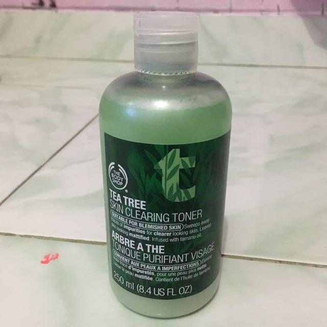 Toner Tea Tree Body Shop