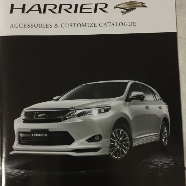 Toyota Harrier Accessories Singapore >> Toyota Alphard Vellfire Harrier Modellista TRD Bodykit Accessories Japan, Car Accessories on ...