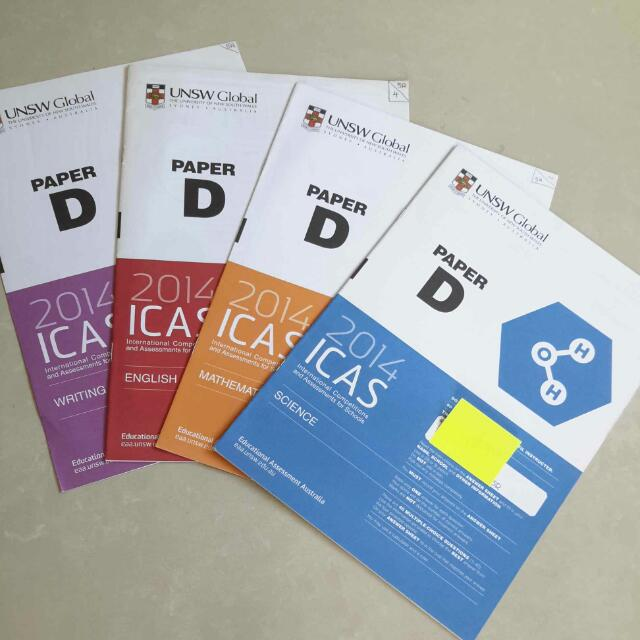 (Reserved) UNSW Global 2014 ICAS Paper D For Primary 5