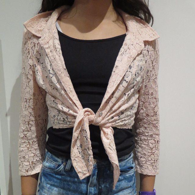 Valleygirl floral design shirt/cardigan size 8