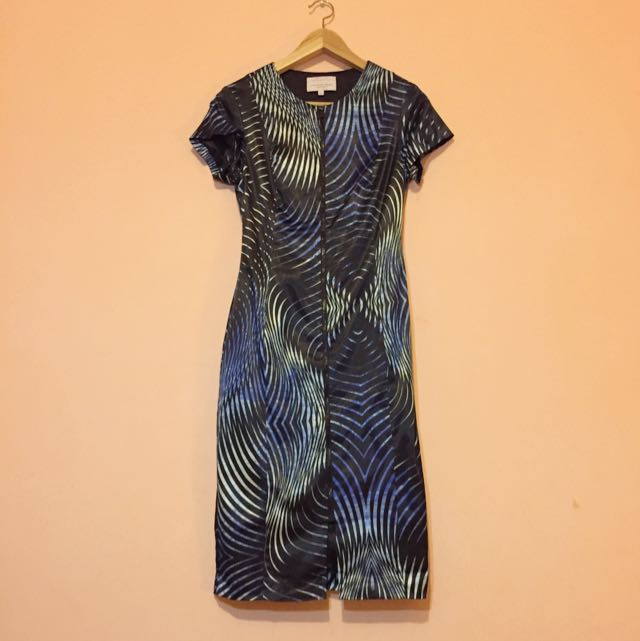 Veronika Maine Print Dress - Size 6